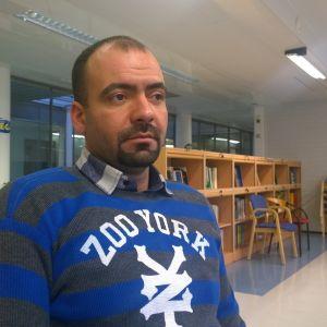 Anwar Naser söker asyl i Finland.