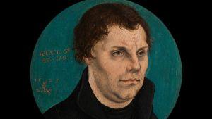 Marthin Luther (1525) Konst som visades på konstmässan Tefaf i Maastricht 2016