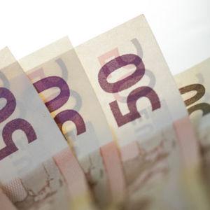 6 femtio euros sedlar i rad