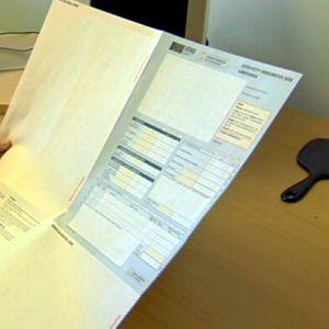 Deklarationsblankett för skatt