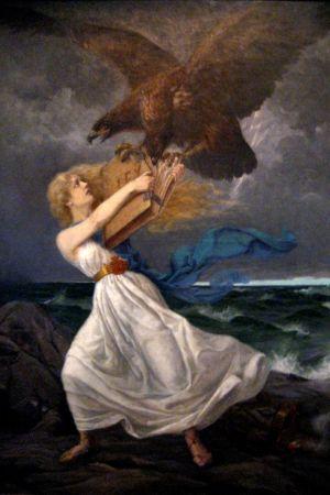 Edvard Istos målning Anfall 1899