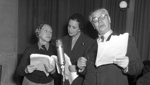Inspelning av Den stora rollen, 1954