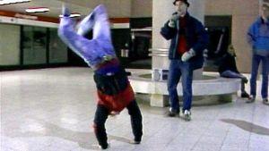 Breakdance i Helsingfors, 1988