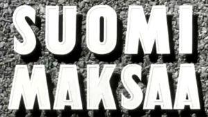 Suomi maksaa -elokuvan alkuteksti
