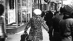 folk på gatan
