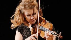 Sara Etelävuori Sibelius-viulukilpailussa 2015.