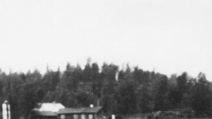 Yleisradion ääniauto Petsamossa (1938).