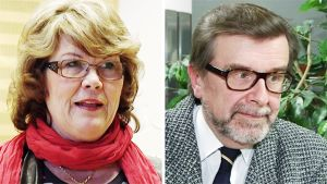 Tuula Kallioniemi och Juhani Salokannel
