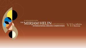 Logo Kansainvälinen Mirjam Helin -laulukilpailu 2014