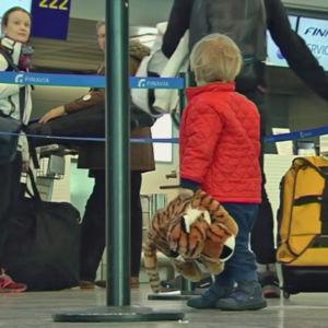 Bagageproblem vid Helsingfors-Vanda flygplats åtgärdade 21.3.2016