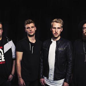 Bandet Sven är utmanare på Vegatoppen i december 2016.