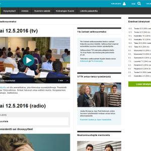 Kuva Yle Uutiset selkouutisten sivusta