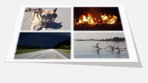 Fyra nyhetsbilder