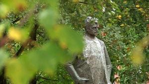 Hämeenlinna honours its most famous son.