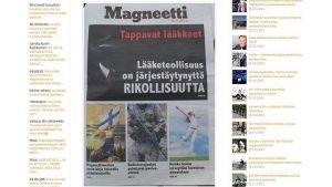 Magneettimedia uppmanar regeringen att hålla Finland vitt.