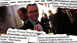 Prinssi Daniel, Slush 2015.