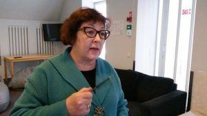 Taina Cederström, lärare, asylsökande, Diakonissanstalten