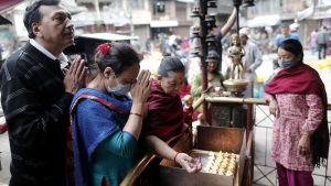 Människor i Kathmandu