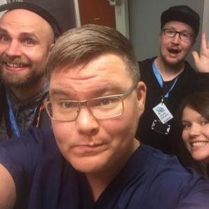 Elossa 24h kuvausryhmä Tampereen päivystyksessä