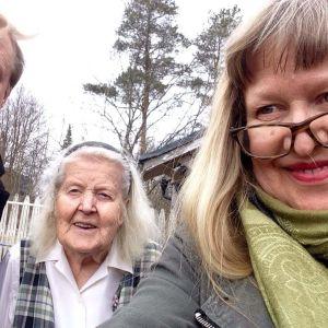 Peter, Mamm och Ann-Sophie