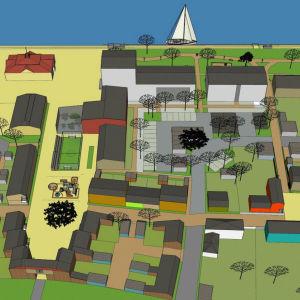 Vision för inre hamnen i Kristinestad.
