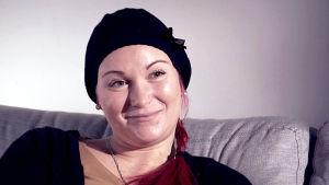Wilma Dufva haastattelukuvassa