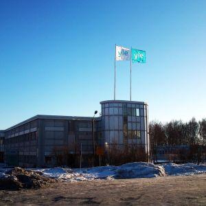 Yles redaktionshus i Vasa.