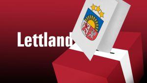 Parlamentsval i Lettland