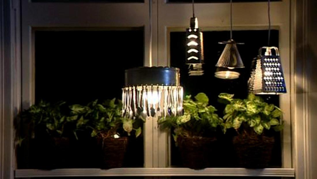 Gamla Koksredskap : Kokslampor av gamla koksredskap  Hobby och hantverk  svenskayle