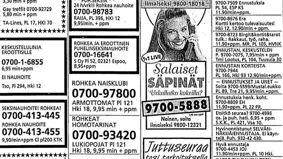 suomen seksi puhelinseksi 09