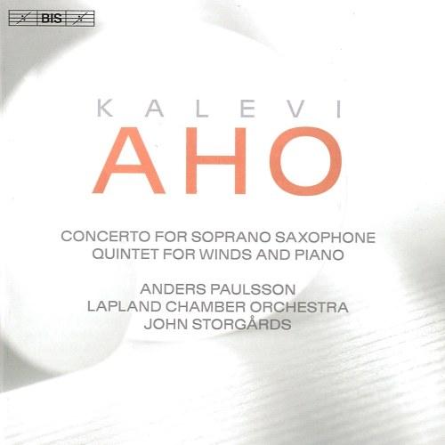 Kuvahaun tulos haulle kalevi aho concerto for soprano saxofoni levyn kansi