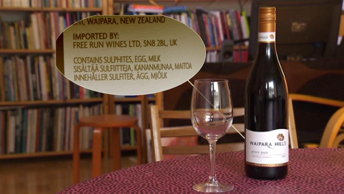 Sulfaatti viinissä