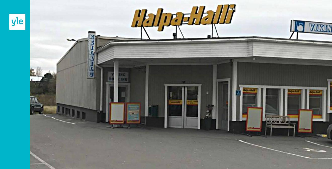 Halpa-Halli stänger i Vörå - 15 jobb är hotade | Österbotten | svenska.yle.fi