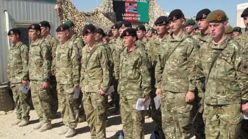 Tva brittiska soldater dodade i afghanistan
