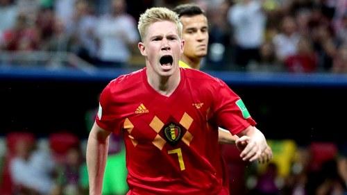 Play media Belgien besegrade Brasilien i en högklassig kvartsfinal in Yle  Areena aab56a94e6021