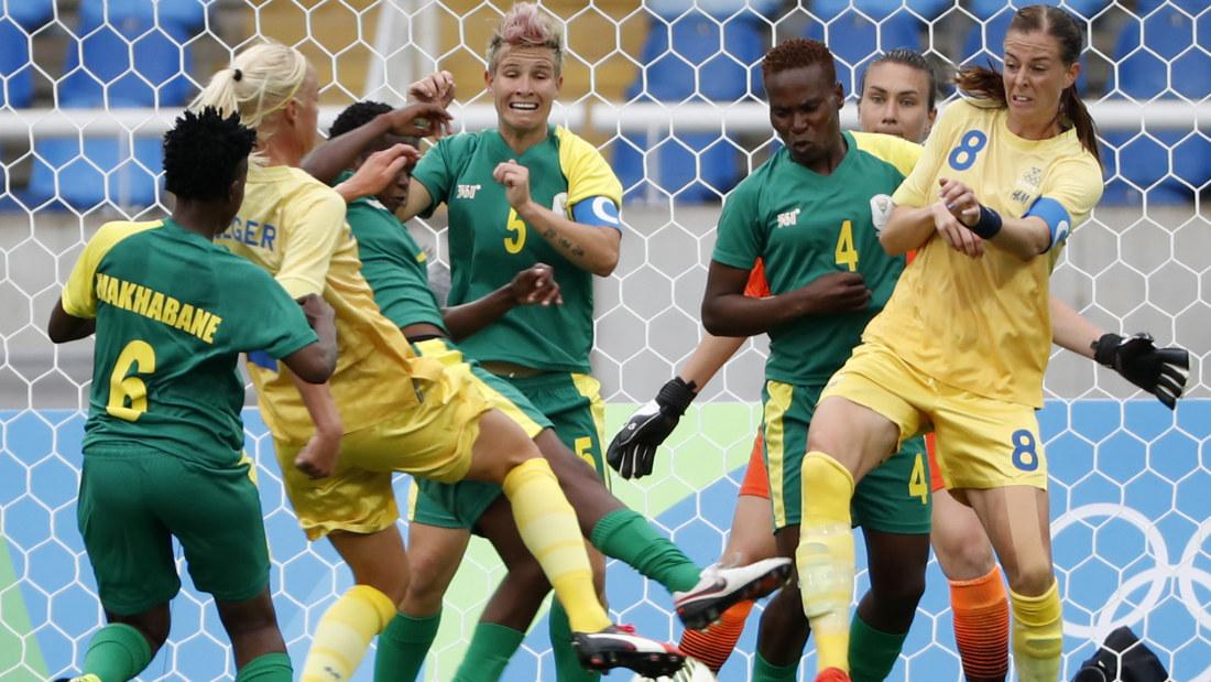 Sverige avancerade i OS-fotbollen