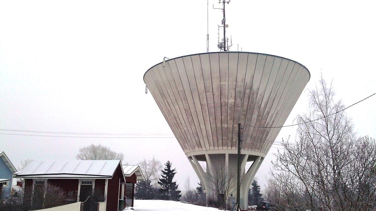 Vattentornet på Kvarnbacken i Borgå