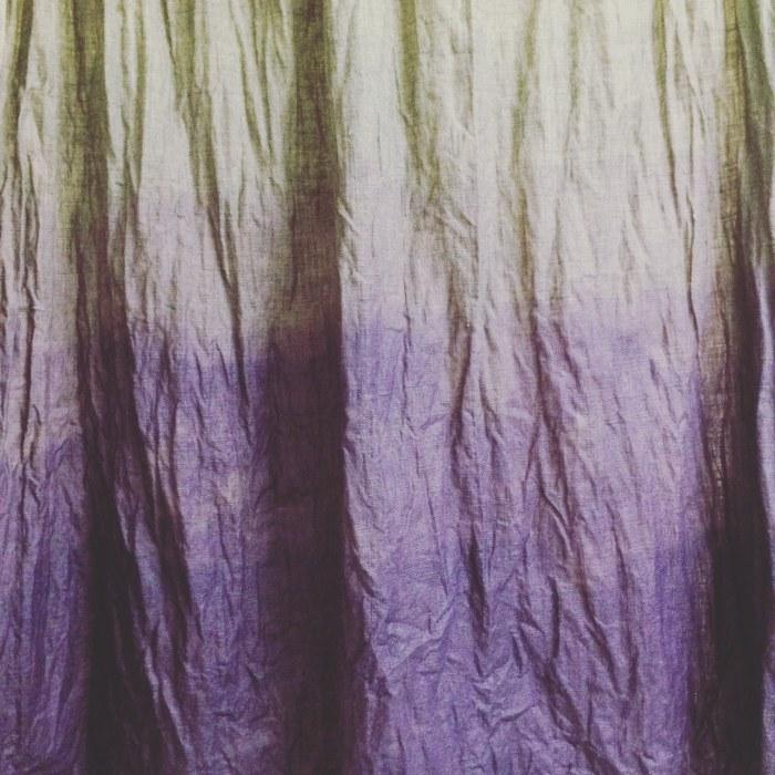 ombre colored hammock fabric