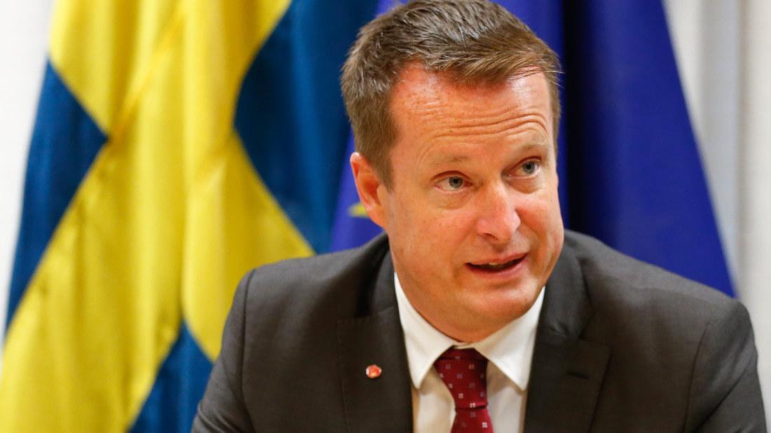 inrikesminister sverige