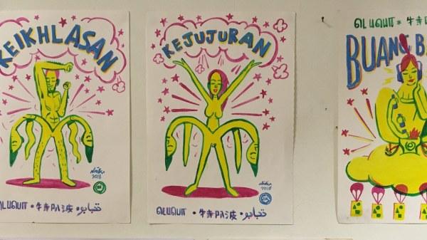 Shieko Retos illustrationer.
