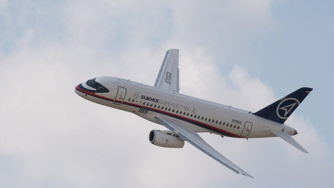 Ryskt Passagerarplan Visades Upp F 195 182 Rsvann Utrikes