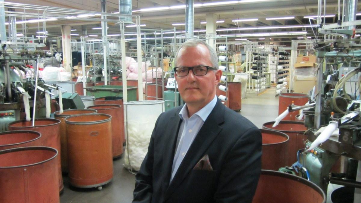 textilindustrin
