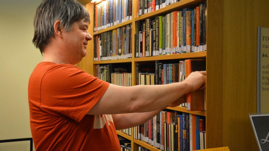 Bokens dag firades p biblioteken boland for Informatiker fa