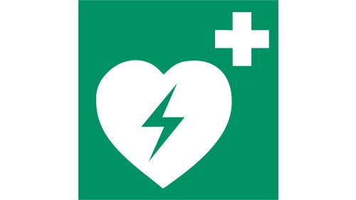 Defibrillaattorin tunnistuskuvake