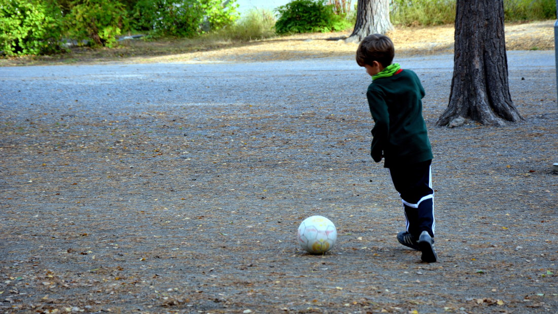 Bevara fotbollen blandad