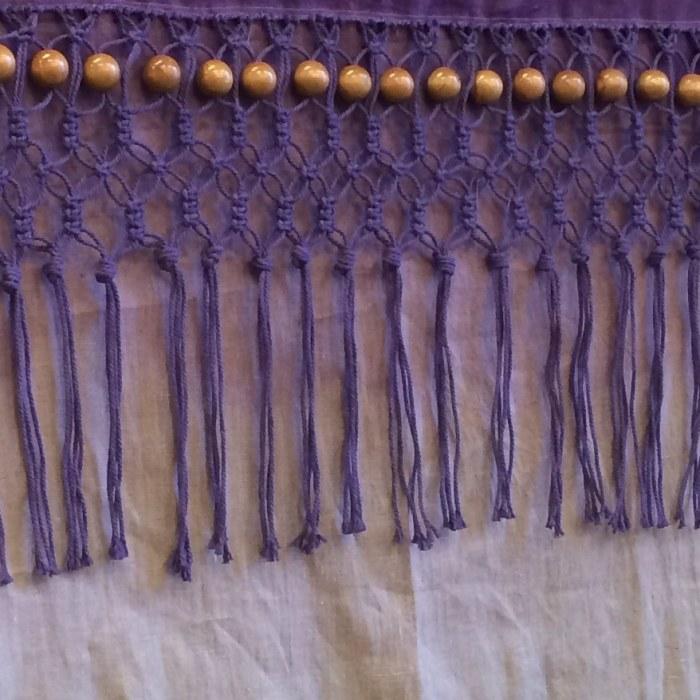 fringes macrame pattern