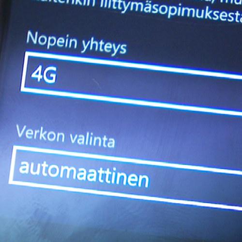 4G dataliittymä