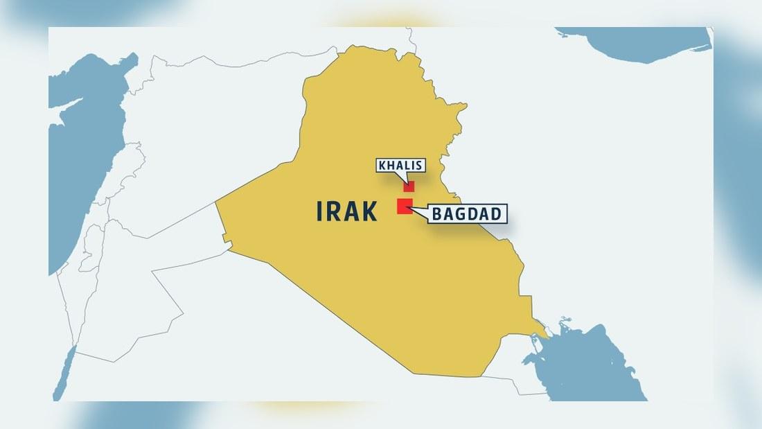karta irak Tiotals döda efter rymning från fängelse i Irak | Utrikes  karta irak