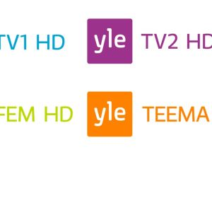 Ylen kanavien HD-logot
