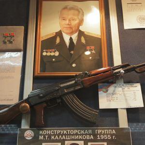 Kalashnikovin asetehdas Izhevskissä Udmurtiassa.